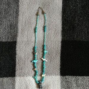 Turquoise Animal Fetish necklace.